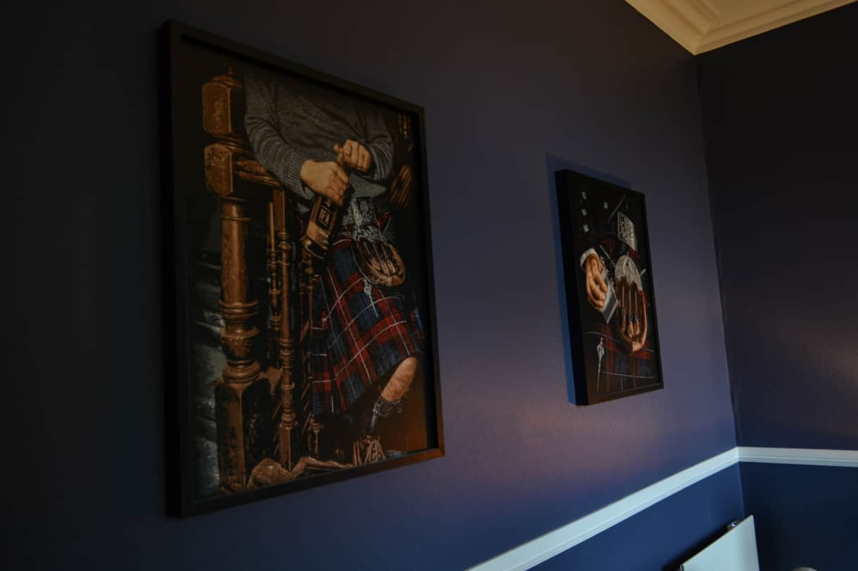 Artwork in the Whisky Snug