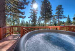 Back Deck Hot Tub