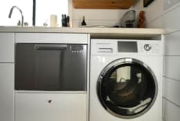 Dishwasher and combination washer/dryer