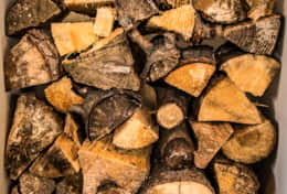 Firewood provided in Winter Months