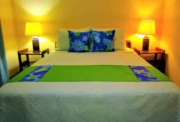 Villa 2 | Bedroom B | Full Bed | A/C | Security Safe