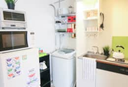 Kitchen & Washing facilities| Fuji House| best family stays in Tokyo | Tokyo Family Stays|