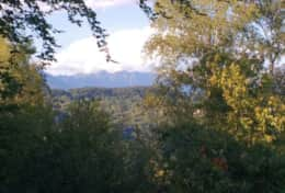 Val Grande seen from the property