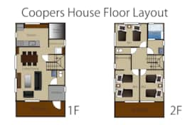 Coopers House floor layout