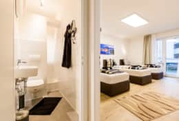 bathroom/sleeping room