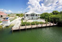 Grouper House, pool, dock and boat ramp