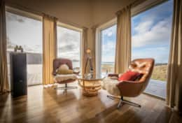 swivel chairs mean no compromise between the view and the banter luxury accommodation skye