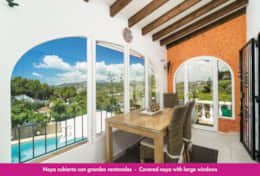 Holiday villa in Moraira with private pool