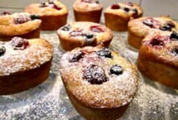 Aston Road Villas Freshly made almond, coconut and berry Frianz