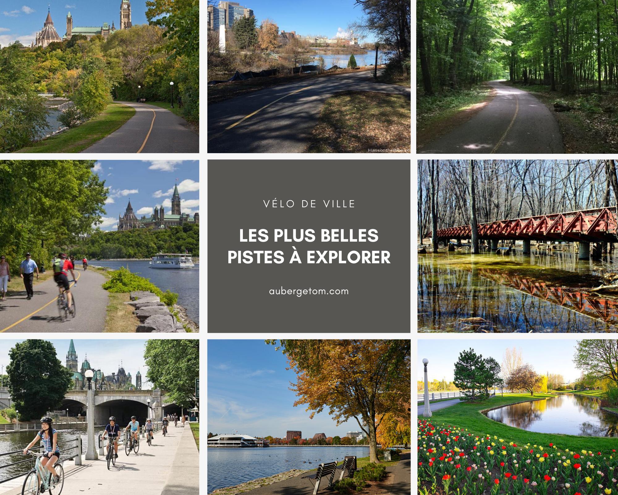 Les plus belles pistes cyclables à Gatineau et Ottawa