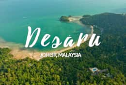 The district of Kota Tinggi, internationally known as the most popular beach in Malaysia