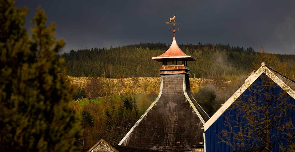 The most concentrated area in the world for Whisky distilleries