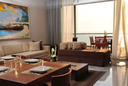 GL 2 Bdrm Suite Living Room