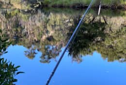 Fishing the huonriver