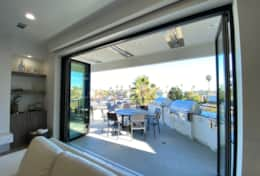 Great room balcony with la cantina doors