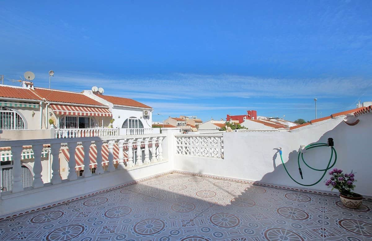 Casita Blanca Roof top terrace