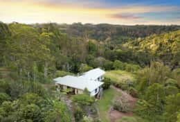 Holiday-Accommodation-Flaxton-House-Aerial View