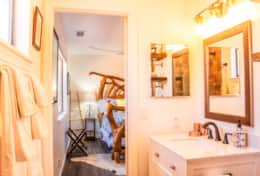 Master Bathroom ~ View of entry to master bedroom