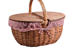 picnic basket for the bread