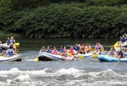 White Water Rafting, 2 mins away