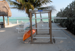 Free Kayak Racks Beach Side
