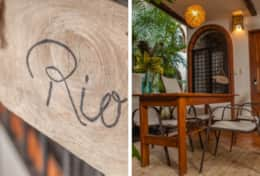 Villa Rio has garden dining for 6.