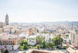 Malaga, a hip town full of fancy museums, quirky boutiques and yummy tapas bars - just 1 hour away.