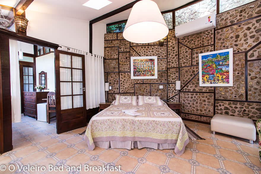 Master Suite - O Veleiro Bed and Breakfast