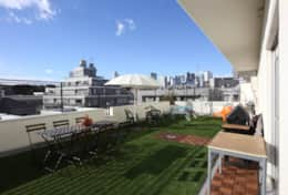 Large private terrace Tokyo Family Stays| 2 bedrooms Harajuku | Stunning 2BR Harajuku
