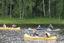 K46 Wallace Cottage - For larger groups we can arrange for you to canoe from Ockelbo to Kolforsen
