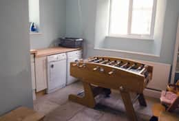 Utility Room with Football Table