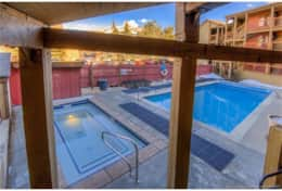 snowcrest pool and hot tub