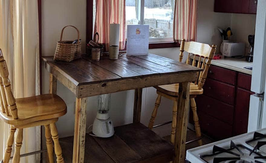 Fishing Cottage kitchen table