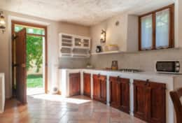 Villa La Ginestra, kitchen ground floor