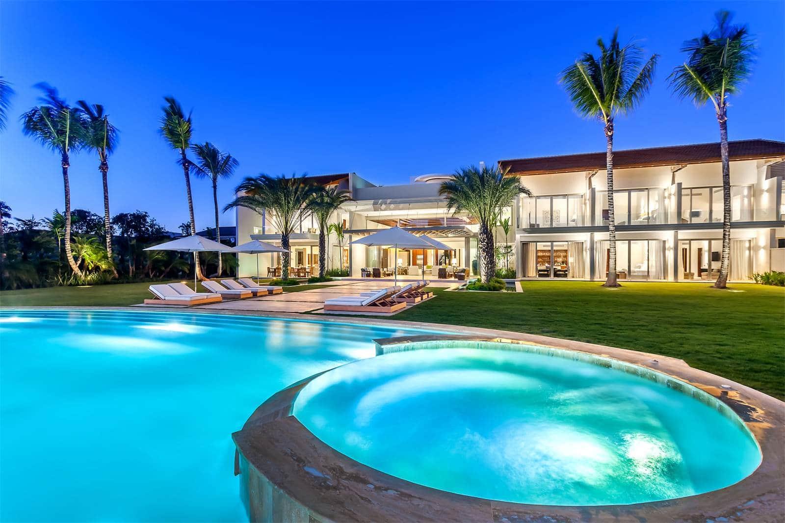 Oceanview Luxury Villa In Casa De Campo Holiday House In La Romana