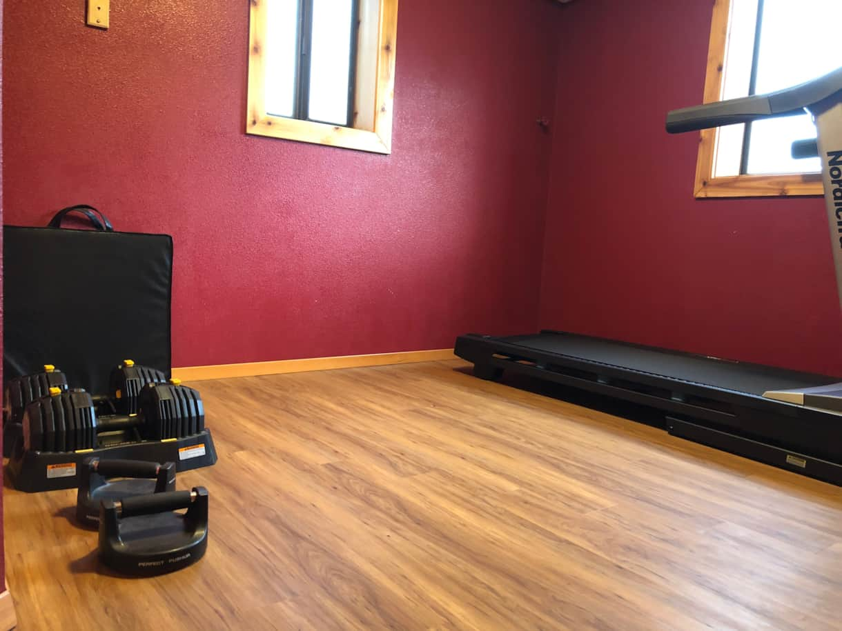 Workout Area Basement