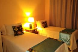 Villa 2 | Bedroom C | 2 Twin Beds | A/C | Security Safe