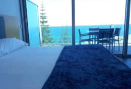 Room with patio and oceanview