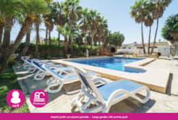 Holiday villa near Moraira