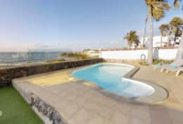 Villa Florita pool and view of the bay