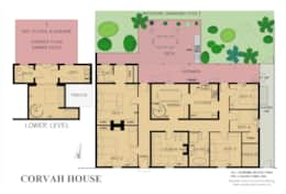 Floor Plan Corvah House