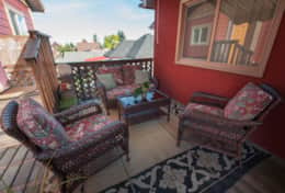Cumberland Guesthouse B Outdoor Space