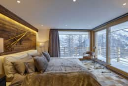 Annapurna - Saas Fee - Master Bedroom