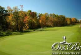 Oak Bay Golf and Country Club - 24 minutes from the cottage