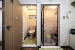 Bathroom and Toilet | best family stays in Tokyo |SakuraHouse| Tokyo Family Stays|