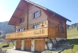 Chalet Front Chalet Habere-Poche