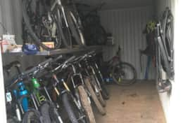 Cumberland Guesthouse Bike Storage