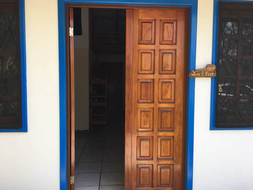 Casa Rosa Playa Zancudo Doorway