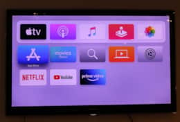 Apple TV con cuentas de Netflix y Amazon Prime Video