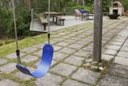 Swing time - The River House Gipsy Point - Good House Holiday Rentals